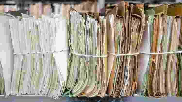 Arquivos da Stasi foram tornados públicos após a reunificação da Alemanha - Getty Images - Getty Images