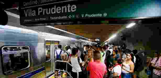 Estação Consolação da linha 2-verde do Metrô de São Paulo - Rubens Cavallari-9.mar.2016/Folhapress