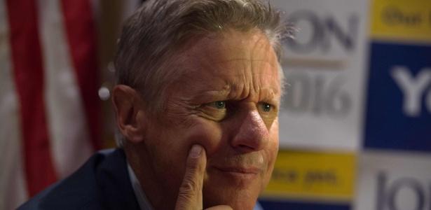 O candidato Gary Johnson, do Partido Libertário - Bryan R. Smith/ AFP