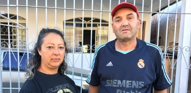 O casal Marli Brizola e José dos Santos mora na Cidade Industrial, em Curitiba