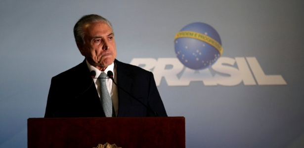 """""""Vou sair dessa crise mais rápido do que se pensa"""", diz Temer ao Blog do Camarotti - Ueslei Marcelino/Reuters"""