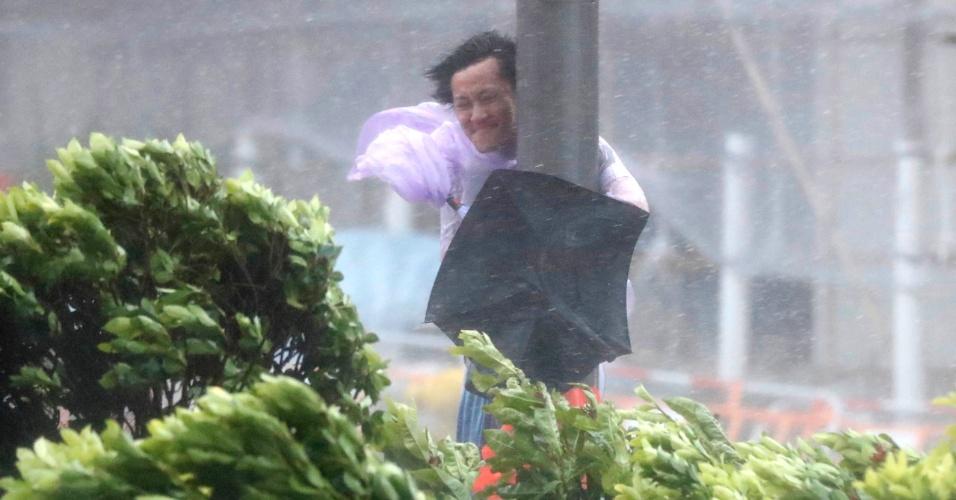 Ventos no país superam 100 km/h: Hong Kong emite alerta máximo para chegada do tufão Hato