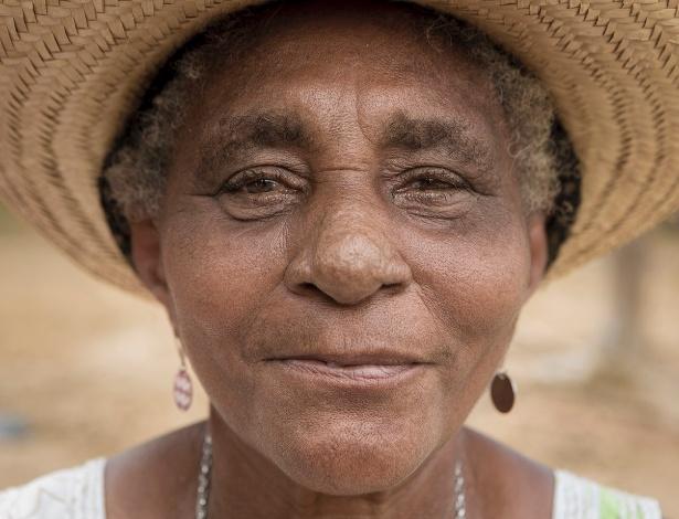Maria José Pinto de Souza vive na comunidade do Quilombo Nazaré, no Maranhão