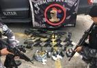 Confronto entre polícia e traficantes deixa 14 mortos em favelas do Rio - Divulgação/Polícia Militar
