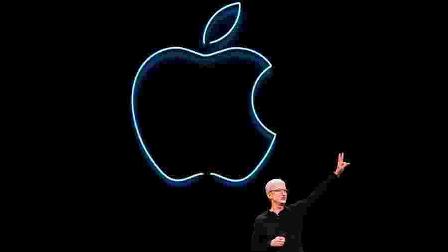 Tim Cook apresenta as novidades da Apple para desenvolvedores na WWDC - Brittany Hosea-Small/AFP