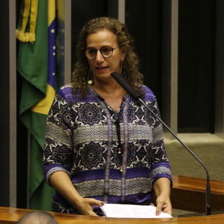 A deputada Jandira Feghali (PCdoB-RJ) - Fátima Meira/Futura Press/Estadão Conteúdo