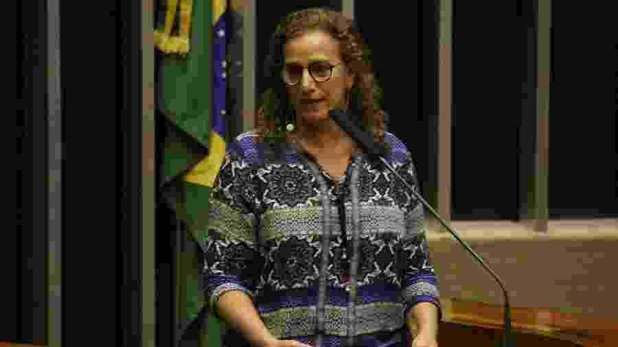 A deputada Jandira Feghali (PCdoB-RJ) aprovou PL que prorroga incentivos para a construção de cinemas - Fátima Meira/Futura Press/Estadão Conteúdo