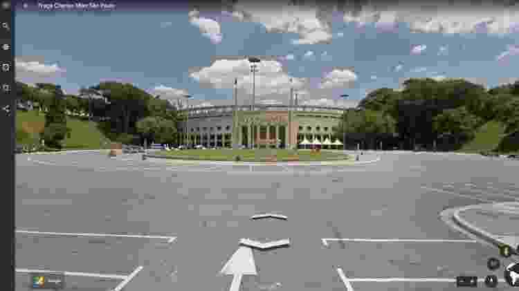 """Com o Street View, você pode """"viajar"""" por vários lugares e ver imagens no nível do solo  - Reprodução"""