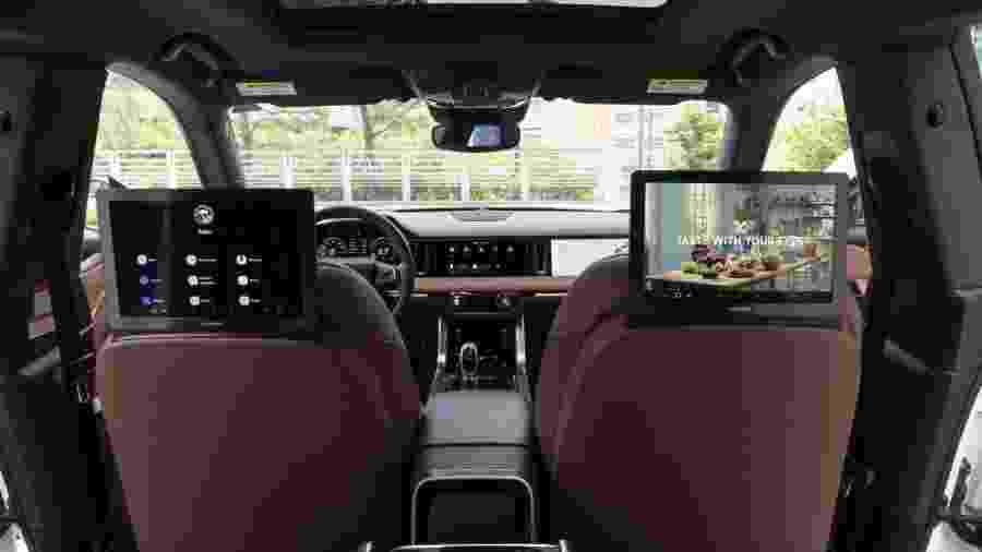 Carro conectado: protótipo da Samsung tem 8 câmeras e 9 telas - Divulgação