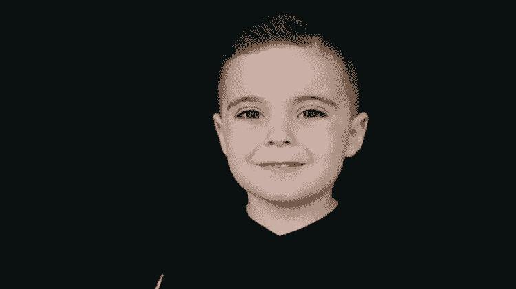 Joseph sempre foi uma criança saudável até que um dia acordou gritando e vomitando. O quadro do menino acabou se revelando muito mais grave do que parecia inicialmente. - Arquivo pessoal