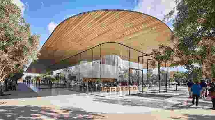 Vista geral do Apple Visitor Center - Divulgação