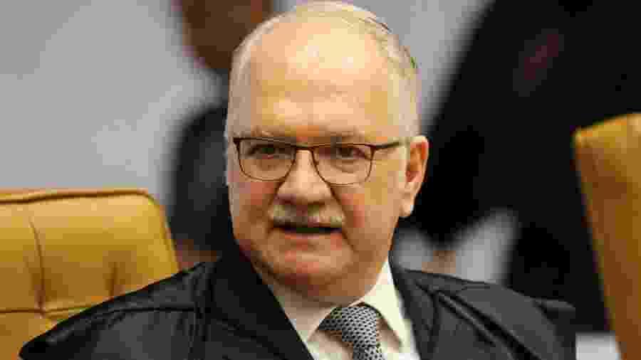 O ministro do STF Edson Fachin autorizou a operação contra o senador - Fátima Meira/Futura Press/Estadão Conteúdo