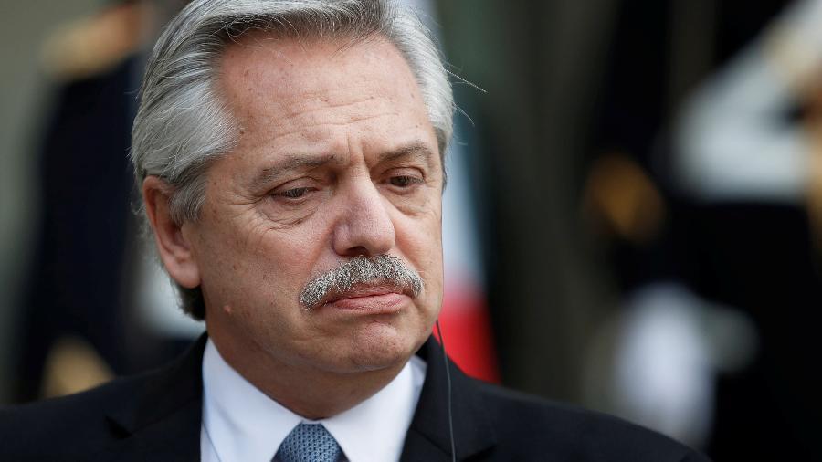 Alberto Fernández, presidente da Argentina, disse que Lula é líder democrático para o Brasil e a América Latina - Gonzalo Fuentes/Reuters