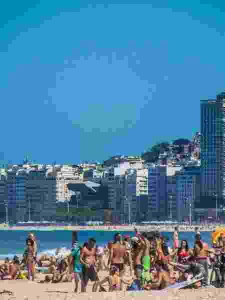 Ideia do prefeito Marcelo Crivella é delimitar espaços na areia, com possibilidade de reserva por aplicativos - ELLAN LUSTOSA/CÓDIGO19/ESTADÃO CONTEÚDO