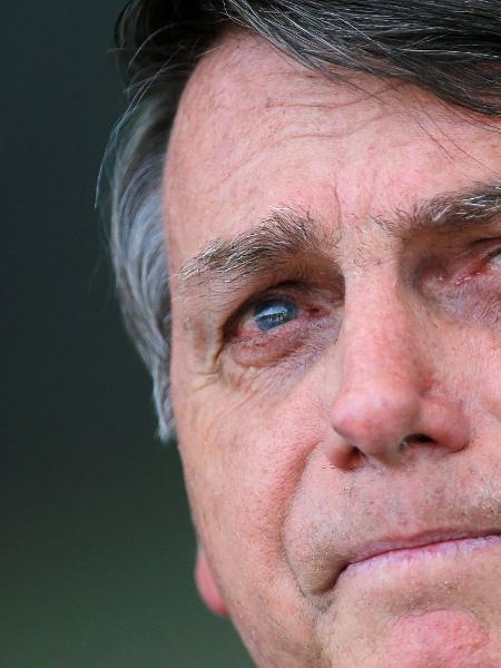 Presidente Jair Bolsonaro em Brasília - Reuters