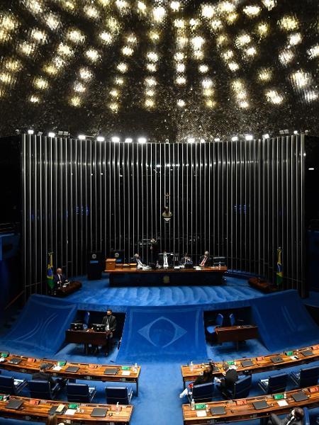 Plenário do Senado: projetos para proteção de mulheres aguardam aprovação  - MATEUS BONOMI/ESTADÃO CONTEÚDO