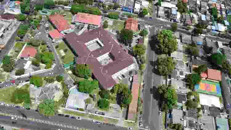 Vista aérea do Hospital Militar de Área de Manaus - Divulgação - Divulgação