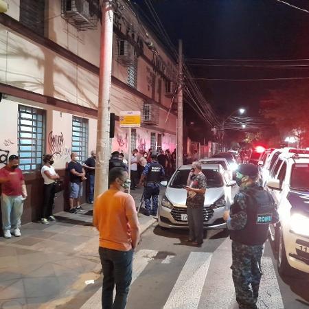 Guarda Municipal foi chamada após tumulto em fila no 2º Cartório de Registro Civil - Luis Magnário/Arquivo Pessoal