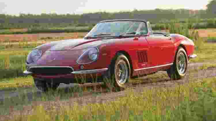 Ferrari 275 GTB/4 S N.A.R.T. Spider 1967 - RM Auctions / Divulgação  - RM Auctions / Divulgação