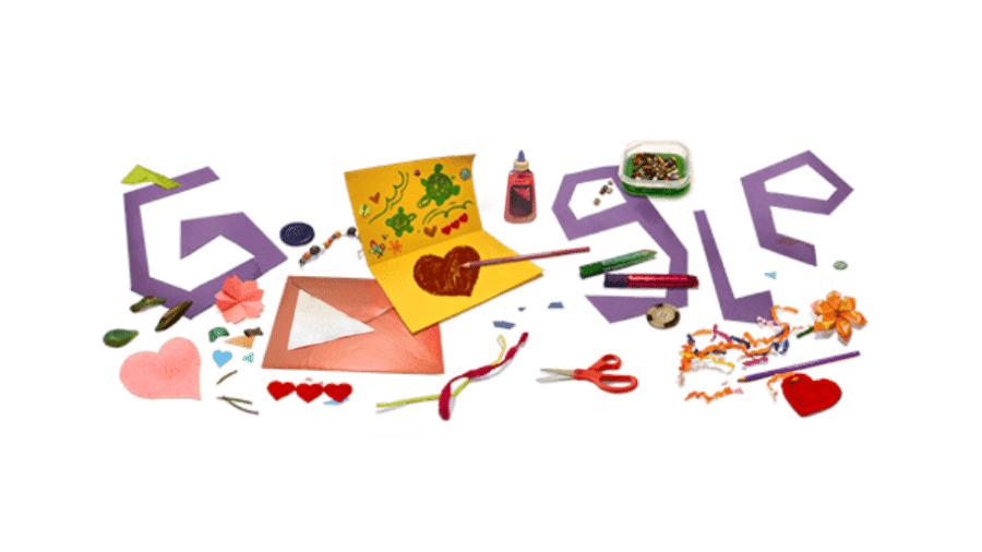 Doodle de dia das mães do Google em 2021 - Reprodução/Google
