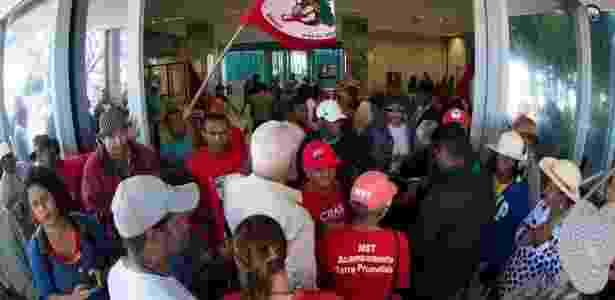 Projeto de lei pode enquadrar protestos de movimentos sociais como terrorismo - Marcelo Camargo/Agência Brasil