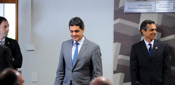 Ricardo Ferraço (PSDB-ES) na sessão em que apresentou seu parecer sobre a reforma