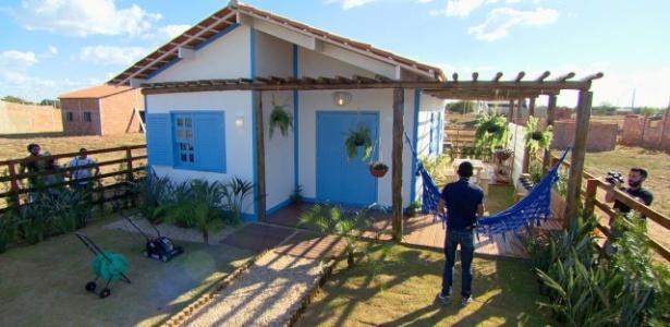 Danilo Correa da Silva ganhou no quadro Lar Doce Lar, do programa Caldeirão do Huck
