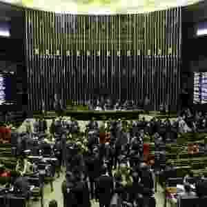 2.ago.2017 - Visão do Plenário da Câmara dos Deputados nesta quarta, quando será votada a denúncia contra o presidente Michel Temer - Adriano Machado/Reuters