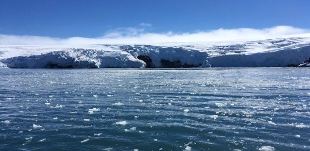 Derreteram 1.463 quilômetros quadrados de gelo submarino no Oceano Antártico entre 2010 e 2017