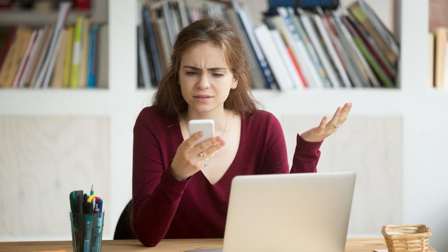 Ligações que desligam na cara podem ser muito irritantes; entenda - Getty Images/iStockphoto