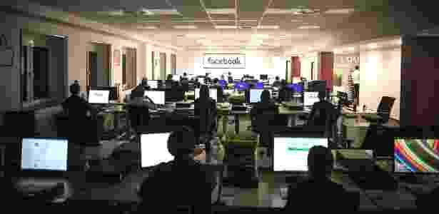 Centro de deleção do Facebook, em Berlim, tem mais de 1.200 funcionários - Gordon Welters/The New York Times
