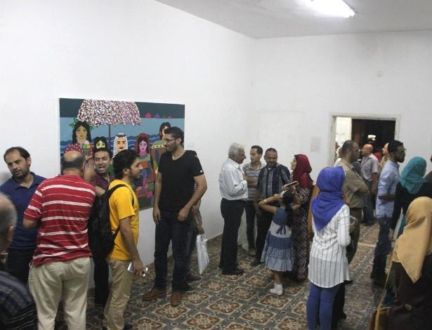 A Qalandiya International, ou Qi, é uma bienal de arte contemporânea palestina