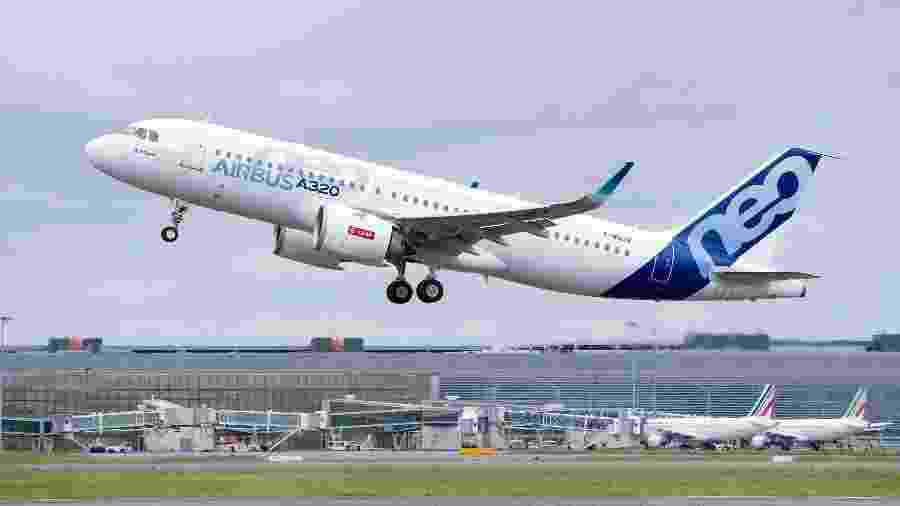 Avião da Airbus - Divulgação