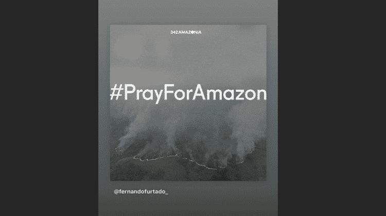 Caetano Veloso se manfesta sobre as queimadas na Amazônia - Reprodução/Instagram - Reprodução/Instagram