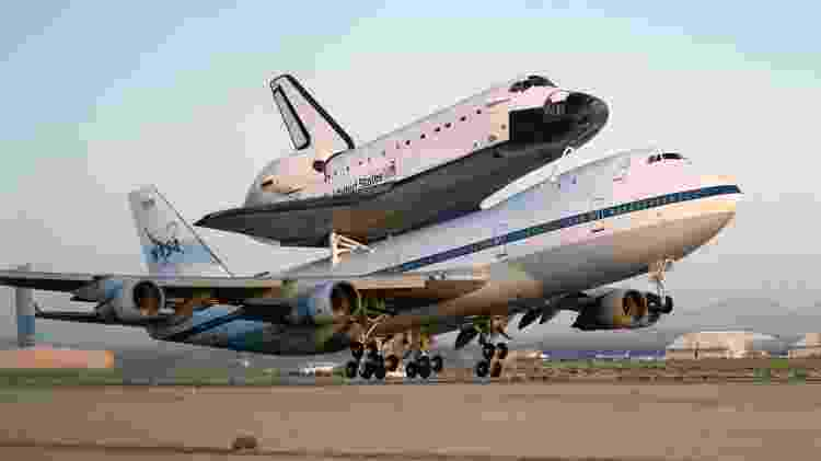 O modelo foi o escolhido pela Nasa para transportar o ônibus espacial de volta à base de lançamento - Divulgação - Divulgação