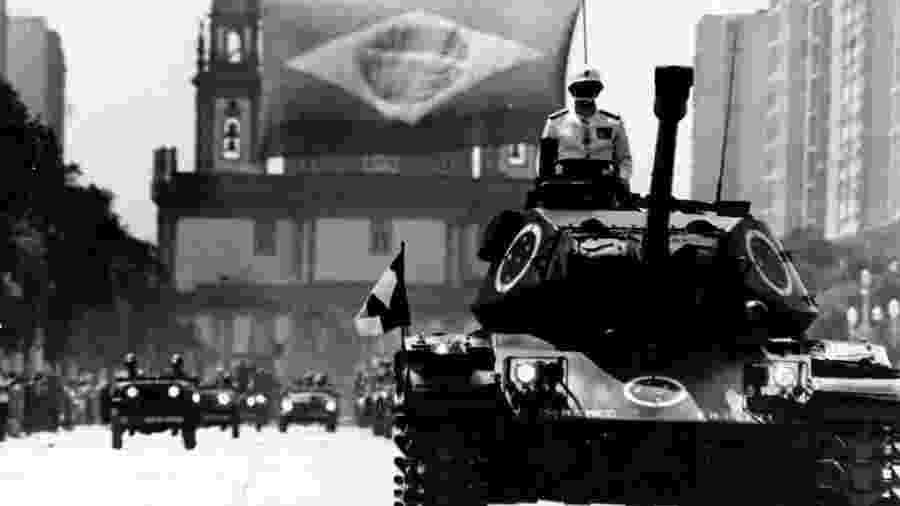 Os anos após o AI-5 foram os mais violentos da ditadura militar - Acervo Arquivo Nacional