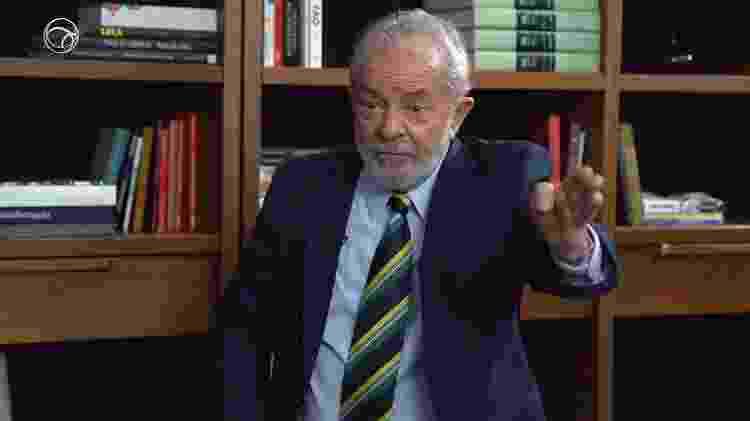 Ex-presidente Luiz Inácio Lula da Silva concede entrevista ao UOL - UOL - UOL