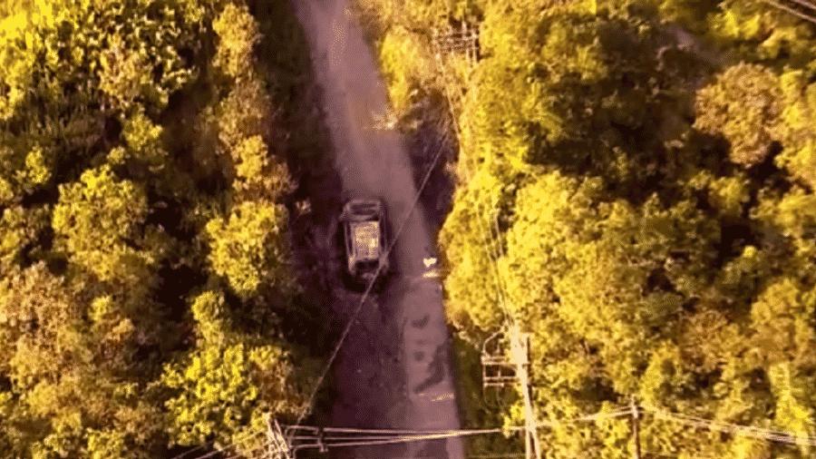 Família foi encontrada carbonizada no porta-malas de um veículo em São Bernardo do Campo, no ABC Paulista - Reprodução/TV Globo
