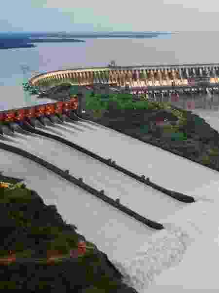 Usina Hidrelétrica de Itaipu - Nilton Rolin/Itaipu