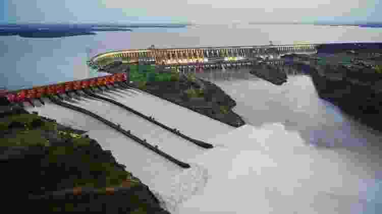 Usina Hidrelétrica de Itaipu - Nilton Rolin/Itaipu - Nilton Rolin/Itaipu