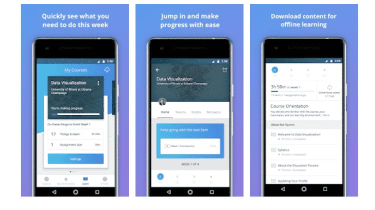 Coursera: aplicativos para aprender ainda mais - Reprodução - Reprodução