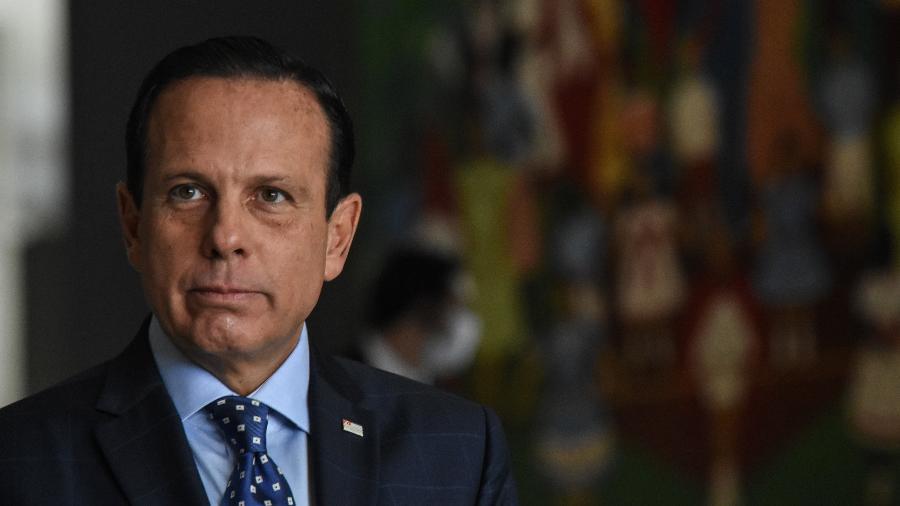 João Doria, governador de São Paulo - ROBERTO CASIMIRO/FOTOARENA/ESTADÃO CONTEÚDO