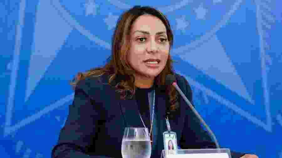 Tatiana Alvarenga, secretária executiva do Ministério da Mulher, Família e Direitos Humanos - Anderson Riedel/PR