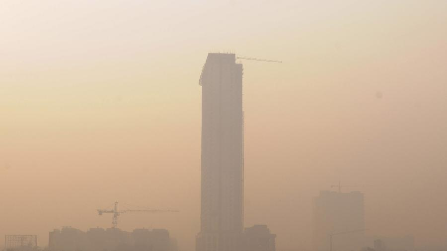 Umidade alta do ar, névoa, poluição, aquecimento global, calor, mudança climática, baixa visibilidade - Getty Images