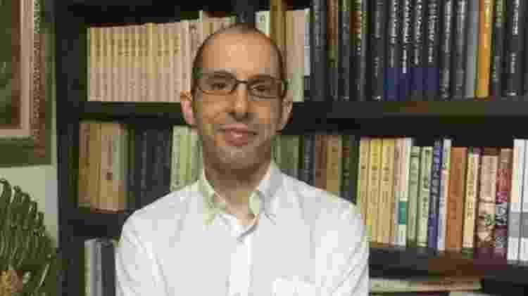 Professor Lúcio de Sousa, da Universidade de Estudos Estrangeiros de Tóquio - Arquivo pessoal - Arquivo pessoal