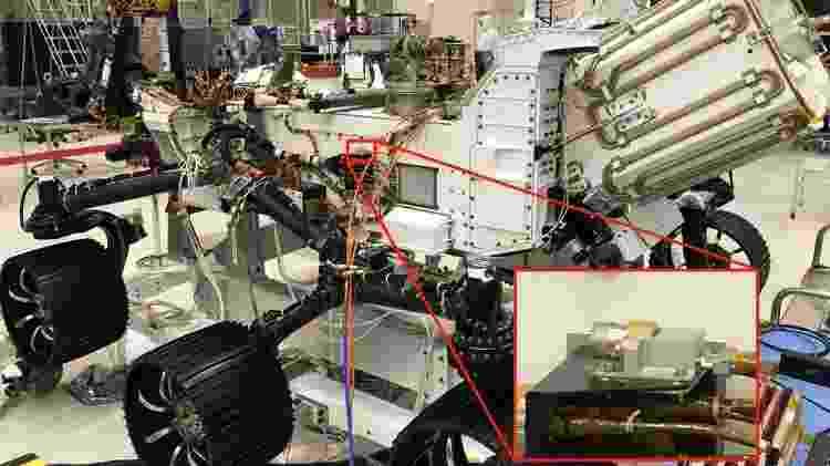 A sonda Perserverance é equipada com microfones - Divulgação/Nasa - Divulgação/Nasa