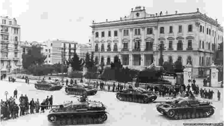 Nazistas ocupam Tessalônica em 1941 - Vozes do Holocausto/Arqshoah - Vozes do Holocausto/Arqshoah