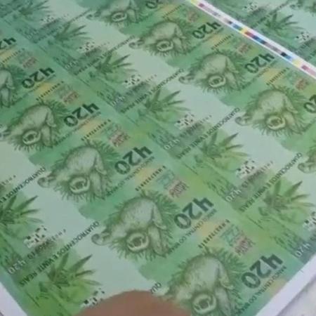 Loja de roupas produziu notas de R$420 em uma ação de marketing no ano passado - Reprodução/ Chronic