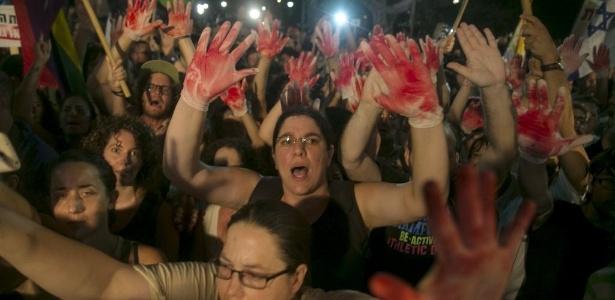 Depois de reação popular, como o protesto de agosto de 2015 em Tel Aviv, governo de Israel tem intensificado combate a extremistas judeus