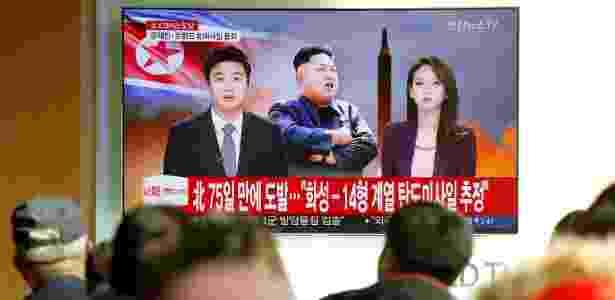 Testes de mísseis na Coreia do Norte têm se repetido este ano e preocupado a comunidade internacional  - Kim Hong-Ji/ Reuters